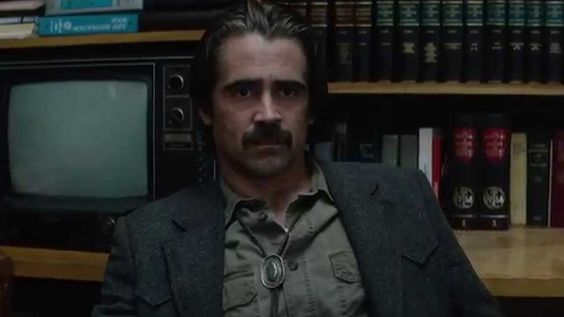 Colin Farrell in True Detective. Credits by Pinterest