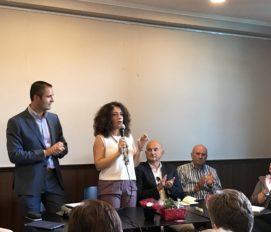 Comitato Giustizia per il Morrone, Conferenza stampa, interventi