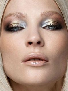 Make up metallizzato via Pinterest